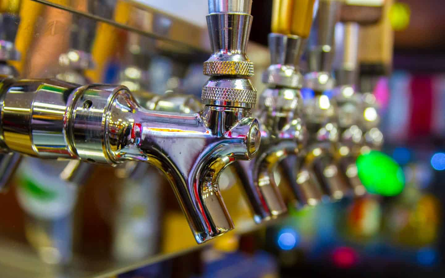how to order beer on tap